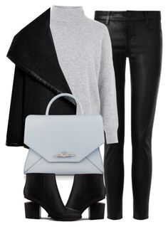 """Untitled #3990"" by london-wanderlust ❤ liked on Polyvore featuring J Brand, Topshop, Ralph Lauren Black Label, Givenchy, Alexander Wang, women's clothing, women's fashion, women, female and woman"
