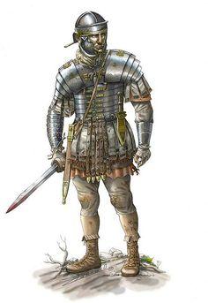 Imperial Roman Legionary of the Roman - Dacian Wars - http://www.inblogg.com/imperial-roman-legionary-of-the-roman-dacian-wars/