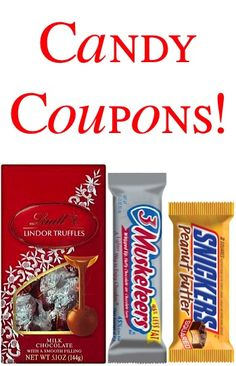 Candy Coupons: $2.00 off 1 Lindt, $1.50 off 2 Jolly Ranchers, Buy One Snickers, Get One FREE + more!