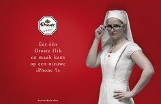 Droste campaign: Maak kans op iPhone by Huub van Osch #vOSCH #huubvanosch #blahblahism #amsterdam #Droste