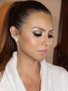 wedding guest makeup - Google Search