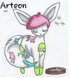 Arteon, fake Art type Eeveelution