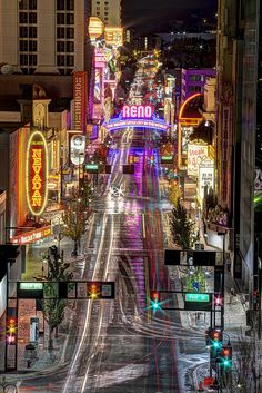 NOT LAS VEGAS! Same state just a few hours drive up the ole in-ter-state on into Downtown Reno, Virginia Street, (c) All Rights Reserved Las Vegas City, Las Vegas Nevada, Reno City, Reno Tahoe, Reno Nevada, World Cities, Going Home, Lake Tahoe, Vacation Spots