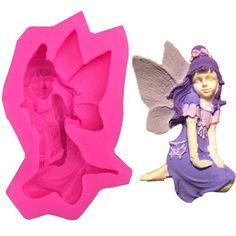 Female Fairy Angel Silicone Mold