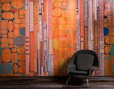 Infused Veneer Panel-Type and Ovals via B+N Industries