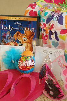 all things simple: easter basket fillers: all things girly. Great tip: I save items I'd purchase anyway if a holiday is approaching.