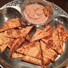 Protein Chips and Chocolate dip. Say what!!? These were amazing and I ate approximately all 42 of them.