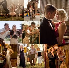 water for elephants... great book and movie