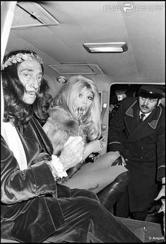 Dali with Amanda Lear