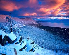 Lake Tahoe... Counting down until I'm in the SNOW <3