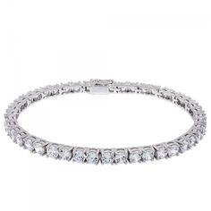 Sleek, Affordable Bracelet from www.diamondnexus.com -