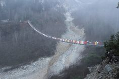 A symbol of friendship between the mountainous regions of Switzerland and Bhutan.