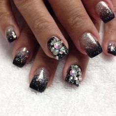 LOVE THESE!!! Done by Kelly Kalua, Owner and Nail Artist of Sassy Nail Art, Maui,Hawaii 808-242-9588