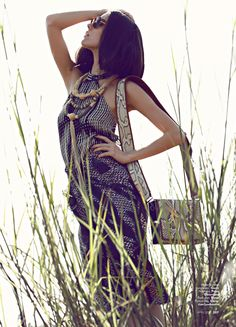 Tribal Beat | Reyna | Glenn Prasetya #photography | Marie Claire Indonesia April 2012