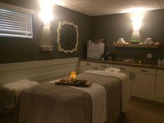 Avanti Salon and Spa of Clarkston, MI Massage Room Renovation by #GigiLinnInteriors