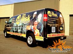 Chevy Express Van Wraps: Vehicle Graphics Made in the USA Chevy Express, Commercial Van, Van Wrap, Custom Wraps, Restoration, The Unit, Graphics, Usa, Vehicles