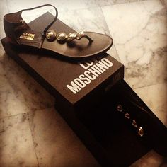 Photo by grillonessg  #moschino #mymoschino #love #shoes