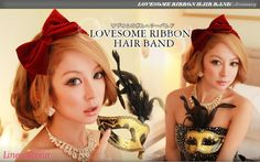 [Rakuten] set wedding party ribbon hair band] [Love Sam Hair Accessories Hair Accessories Hair Style Women's Sale: wig-extension @ Linea-Storia