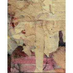 """Original abstract paper-collage """"Der Weisse Baum - The White Tree""""... (94 BRL) ❤ liked on Polyvore featuring home, home decor, wall art, paper wall art, white home accessories, white home decor, tree home decor and white tree wall art"""