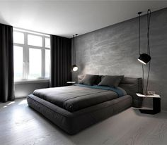 Apartment in Dark Moody Colors by InCube
