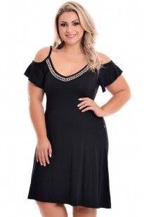 Vestido Plus Size Charmy Femine