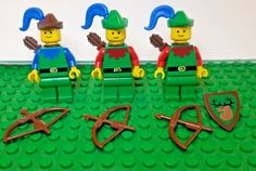 *NEW* Lego Aqua Blue Head Bows Friends Minifigs Figures Figs 6 pieces