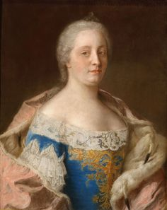 Liotard, Jean Etienne - Maria-Theresia van Oostenrijk | Flickr - Photo Sharing!