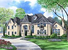 Living on a Grand Scale - 36299TX | Architectural Designs - House Plans