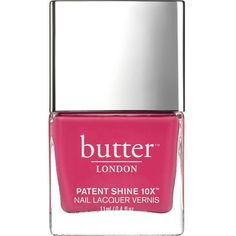 BUTTER LONDON Nail polish (65 BRL) ❤ liked on Polyvore featuring beauty products, nail care, nail polish, makeup, butter london, butter london nail polish, butter london nail lacquer and shiny nail polish