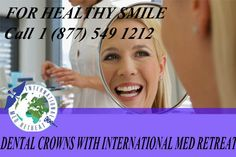 A #Dental Crown is a type of dental #restoration which entirely caps or surrounds a #tooth or dental implant. When a large #cavity threatens the health of a tooth, #crowns are often needed.  http://internationalmedretreat.com/all-dental-procedures/dental-crown/  #IMR #DENTAL