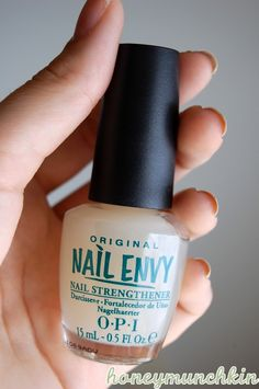 OPI Original Nail Envy.  I heard lots of good things about this nail strengthening polish....  I've got to get some!