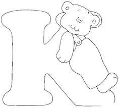 Escuela infantil castillo de Blanca: ALFABETO OSOS PARA COLOREAR Alfabeto Animal, Alphabet, Line Drawing, Blackwork, Smurfs, Quilt Patterns, Disney Characters, Fictional Characters, Clip Art