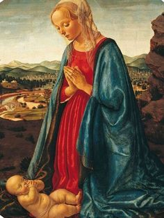 Maternità di Maria - Francesco Botticini circa 1470