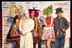 "Everyone is ready for the collection ""Desigual Inspired by Cirque du Soleil"""