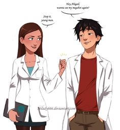 Not young anymore by Milady666 on DeviantArt <<< WHYYYYY DO I LOVE THIS SO MUCH?!  Also, if they were the same age, I think I'd ship it.