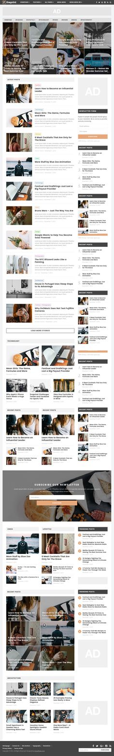 [ #WordPress ]- New WordPress Themes (HTML5 CSS3 and SEO Friendly)