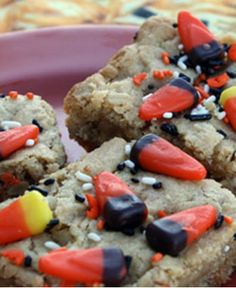 Halloween Cookie Bars /Cook/Recipes/22465/