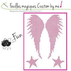 Feuille magique Angel Custom by me ! - Dmc - Sperenza Atelier Créatif, boutique de laines et articles de mercerie