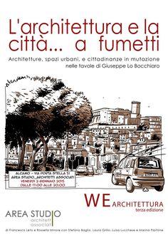 Larchitettura e la citt... a fumetti, Alcamo, 2015 - AREA STUDIO architetti associati