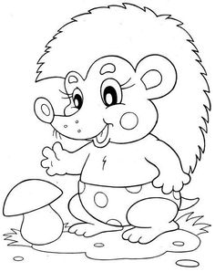 hedgehog coloring page Make your world more colorful with free printable coloring pages from italks. Our free coloring pages for adults and kids. Farm Animal Coloring Pages, Coloring Book Pages, Coloring Sheets, Free Coloring, Coloring Pages For Kids, Digital Stamps, Printable Coloring, Fall Crafts, Baby Quilts