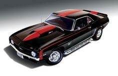 Reminds me of a model I built once. The red stripes on the side look nice. Wouldn't be a bad idea on my car.