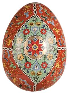 By Nathasha Mann. For the Faberge sponsored BIG Egg Hunt being held in London this month. Over 200 artists are participating.