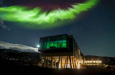 Check out 'Iceland Northern Lights & Sonar' on YOGASCAPES
