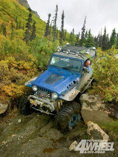 Alaska Four Wheeling Custom Jeep Mud Photo 7