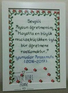 Enyse Hobi Home /facebook-Pinterest Öğretmenler Günü için etamin pano
