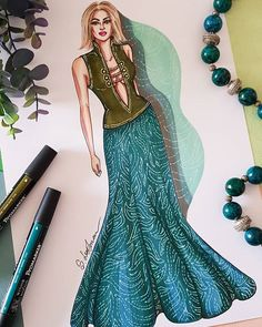 Flower inspiration . . #fashionartist #fashiondesigner #fashiondrawing #fashionillustrator #fashionsketch #fashionsketchbook…