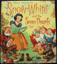 Filmic Light - Snow White Archive: Artwork for Vintage Children's Book