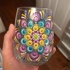 tattoo - mandala - art - design - line - henna - hand - back - sketch - doodle - girl - tat - tats - ink - inked - buddha - spirit - rose - symetric - etnic - inspired - design - sketch Dot Painting Tools, Dot Art Painting, Pottery Painting, Painting Glass Jars, Bottle Painting, Glass Art, Glass Bottle Crafts, Bottle Art, Jar Art