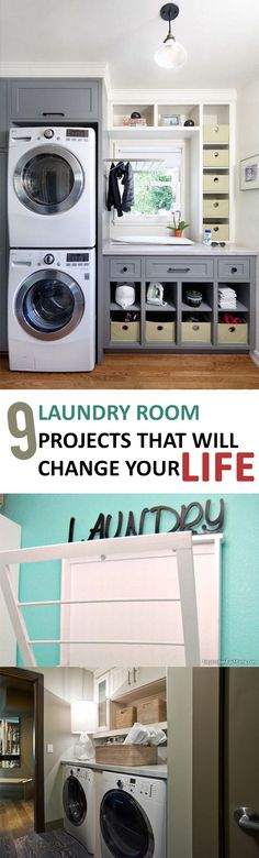 9 Laundry Room Projects that Will Change Your Life