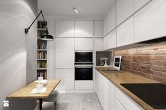 Aranżacje wnętrz - Kuchnia: suspenzo_no.13 - Średnia otwarta kuchnia w kształcie litery l, styl industrialny - suspenzo architectural group. Przeglądaj, dodawaj i zapisuj najlepsze zdjęcia, pomysły i inspiracje designerskie. W bazie mamy już prawie milion fotografii!
